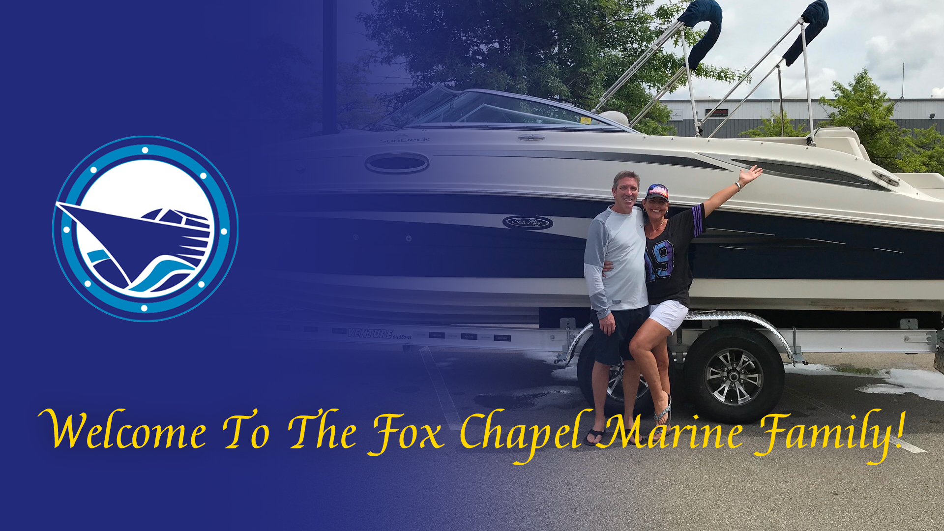 Welcome To The Fox Chapel Marine Family Brian & Monica!