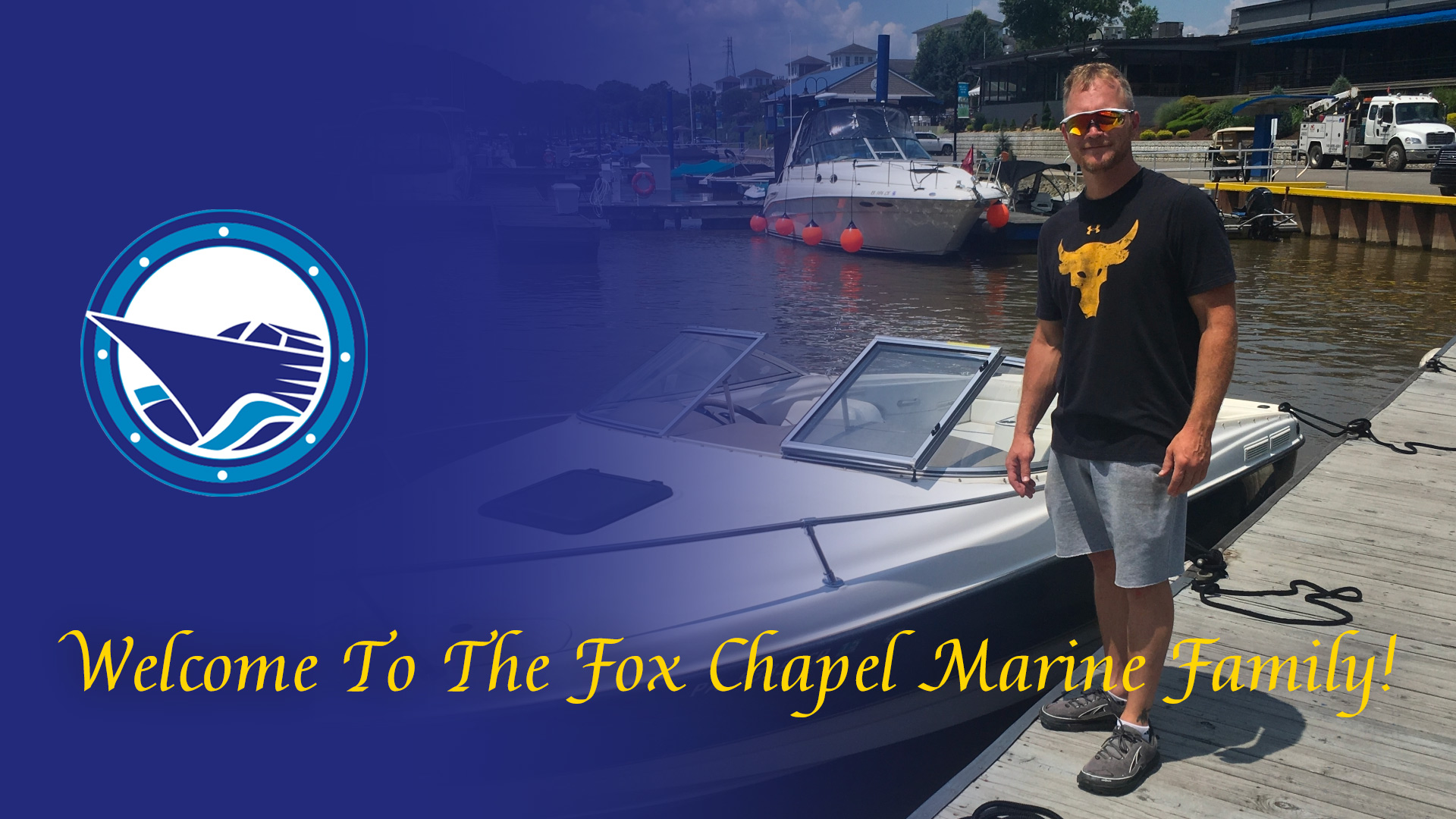 Welcome To The Fox Chapel Marine Family Randy!