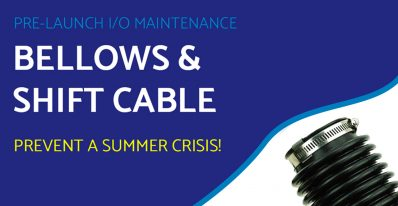 Pre-Launch – I/O Maintenance – Bellows and Shift Cable
