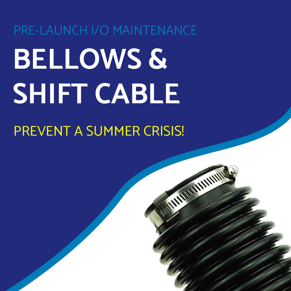 Pre-Launch---I/O Maintenance---Bellows and Shift Cable