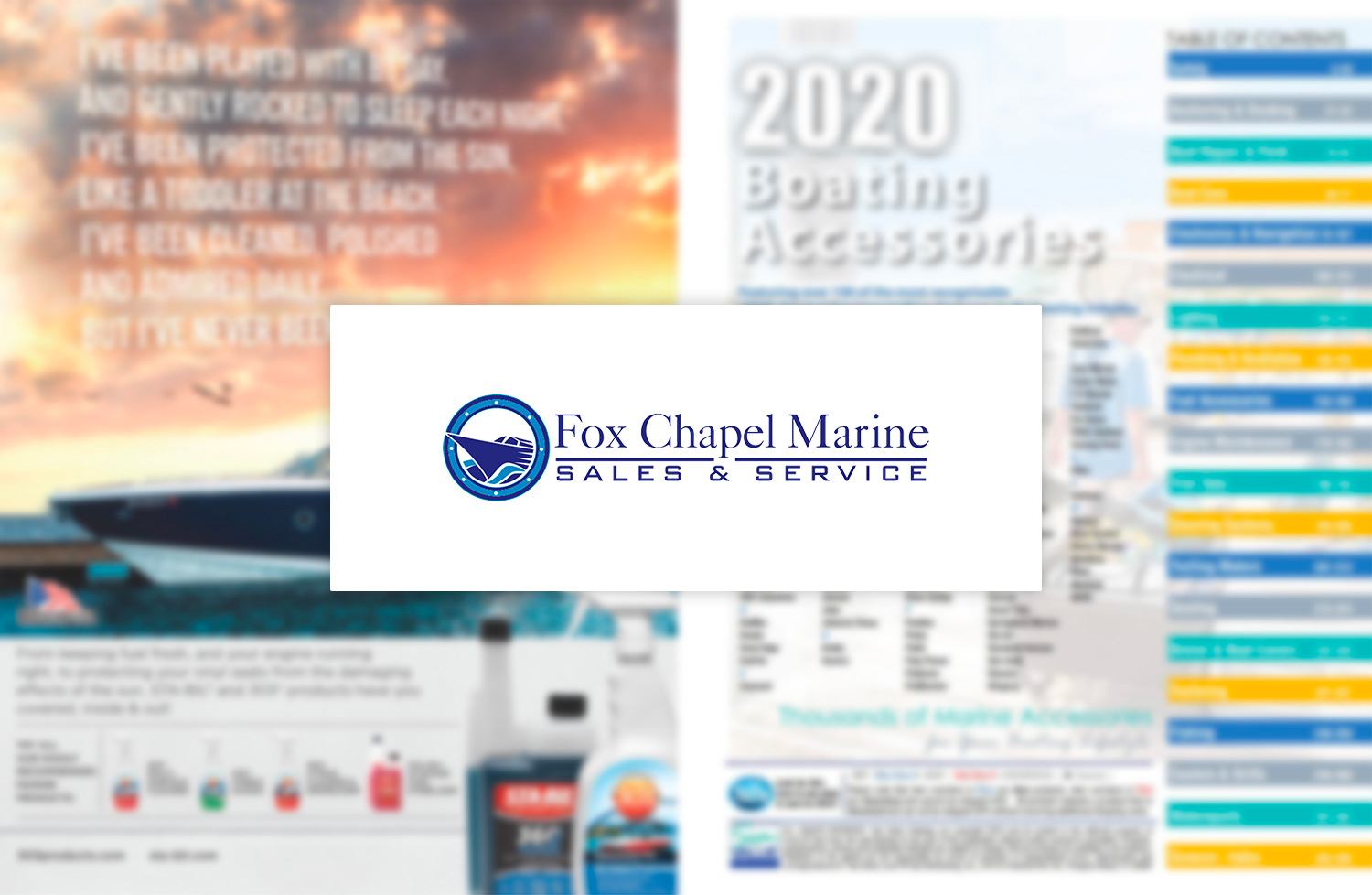2020 Fox Chapel Marine Catalog