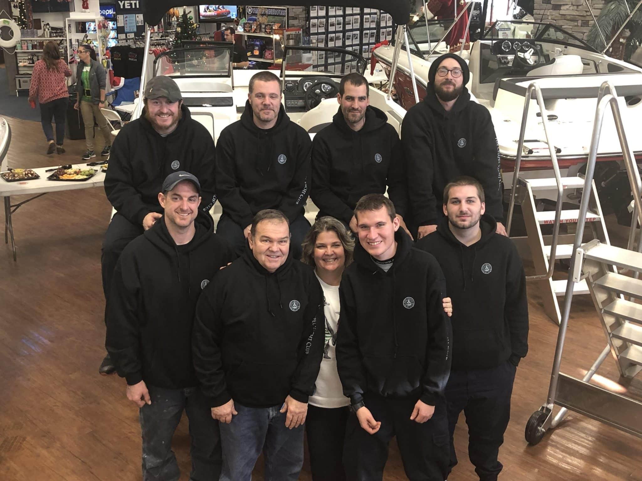 Fox Chapel Marine Service Team