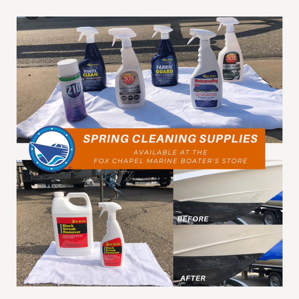 spring cleaning boatstore 2021