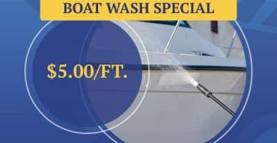 Boat Wash Special